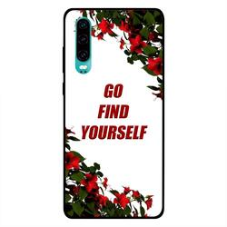 Moreau Laurent Huawei P30 Mobile Phone Back Cover, It's Always Too Early To Quit