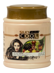 Silky Cool Fruits Extract Hot Oil Cream for All Hair Type, 1000ml