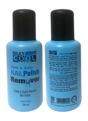 Silky Cool Nail Polish Remover, 120ml, Clear