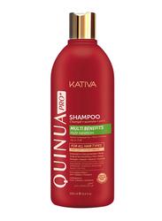 Kativa Quinua Pro+ Shampoo for Damaged Hair, DRFS, 500ml