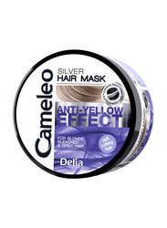 Delia Cameleo Silver Hair Mask for Blonde, Bleached & Gray Hair, 200ml