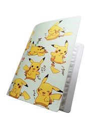 Pikachu Collection 324 Pokemon Top Loaded List Cards Album Holder Book, m035