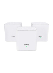 Tenda Technology Nova MW3 Whole Home Mesh Wi-Fi System, 3-Pack, White
