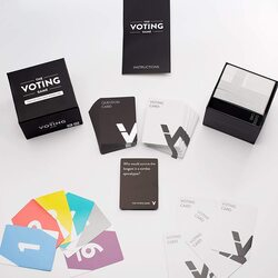The Voting Adult Party Card Game