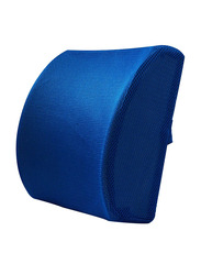 Cotton Free Size Back Pillow, Blue