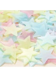 Glow In The Dark Stars Luminous Wall Stickers, 20x10x10cm, Multicolour