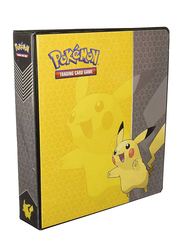 Pikachu Pokemon 160 Playing Cards Holder Album Book, 70 X 94 Mm Cards, 20 Pages, M047