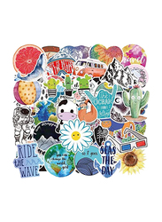 Meetion Graffiti Hand Account Stickers Set, 53 Pieces