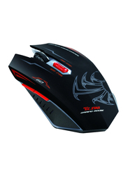 TC Star 193 Optical Gaming Mouse, Black
