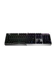 MSI Vigor GK50 Low Profile Mechanical Wired English Gaming Keyboard, Black