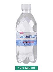 Aquaplus Alkaline Mineral Water, 12 Pet Bottles x 500ml