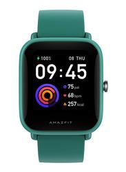 Amazfit Bip U 36mm Smartwatch, GPS, Green