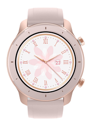 Amazfit GTR 42mm Smartwatch, GPS, Pink