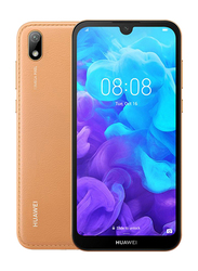 Huawei Y5 (2019) 32GB Amber Brown, Without FaceTime, 2GB RAM, 4G LTE, Dual Sim Smartphone