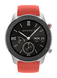Amazfit GTR 42mm Smartwatch, GPS, Coral Red