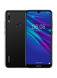 Huawei Y6 Prime (2019) 32GB Midnight Black, Without FaceTime, 2GB RAM, 4G LTE, Dual Sim Smartphone