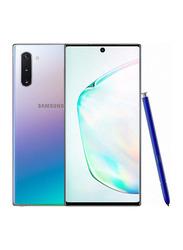 Samsung Galaxy Note 10 256GB Aura Glow, Without FaceTime, 8GB RAM, 4G LTE, Dual Sim Smartphone