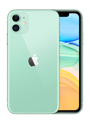 Apple iPhone 11 128GB Green, Without FaceTime, 4GB RAM, 4G LTE, Dual Sim Smartphone