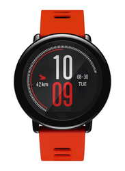 Amazfit Pace 34mm Smartwatch with Music Storage, GPS, Red