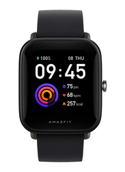 Amazfit Bip U 36mm Smartwatch, GPS, Black
