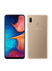 Samsung Galaxy A10 32GB Gold, Without FaceTime, 2GB RAM, 4G LTE, Dual Sim Smartphone
