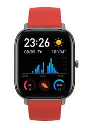 Amazfit GTS 42mm Smartwatch, GPS, Red
