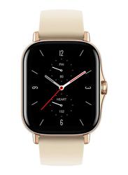 Amazfit GTS 2 42mm Smartwatch with Music Storage, GPS, Gold