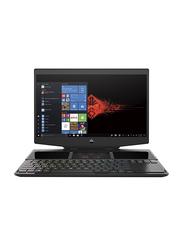 HP Omen X 2S Gaming Laptop, 15.6 inch FHD Display, Intel 6-Core i7-9750H 9th Gen 2.6GHz, 512GB PCIe SSD, 16GB RAM, NVIDIA GeForce RTX 2070 8GB Graphics, EN KB, Win 10, 6BR99AV, Black