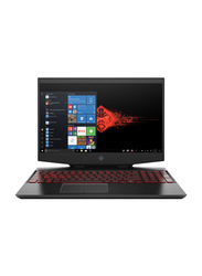 "HP OMEN 15T Gaming Laptop, 15.6"" FHD Display, Intel Core i7 10th Gen 2.6GHz, 1TB SATA + 256GB PCIe SSD, 16GB RAM, NVIDIA GeForce GTX 1660Ti 6GB Graphic, EN KB, Win 10, 8VD75AV, Black"