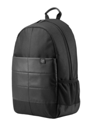 HP Classic 15.6-inch Backpack Laptop Bag, Water Resistant, Noir