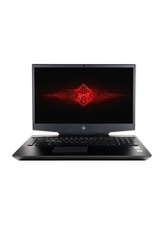HP Omen 17T Gaming Laptop, 17.3 inch FHD Display, Intel 6-Core i7-9750H 9th Gen 2.6GHz, 1TB HDD + 256GB PCIe SSD, 16GB RAM, NVIDIA GeForce 1660Ti 6GB Graphics, EN KB, Win 10, 5VX46AV, Black