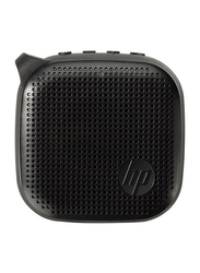 HP 300 Splashproof Portable Mini Bluetooth Speaker, Black