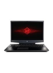 HP Omen 17T Gaming Laptop, 17.3 inch FHD, Intel 6-Core i7-9750H 9th Gen 2.6GHz, 1TB HDD+256GB PCIe SSD, 16GB RAM, NVIDIA GeForce RTX 2070 with Max-Q design 8GB Graphics, EN KB, Win 10, 5VX46AV, Black
