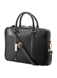 HP Spectre 14-inch Slim Topload Laptop Messenger Bag, Black