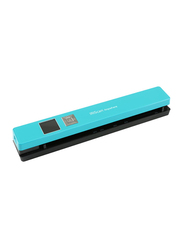IRIScan Anywhere 5 Document Color Scanner, 1200DPI, LCD Display, Turquoise