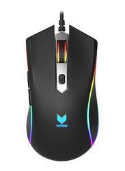 Rapoo VPRO V280 7000 DPI RGB Wired Optical Gaming Mouse, Black