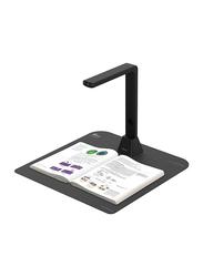 IRIScan Desk 5 Pro Large Document Overhead Color Scanner, 300DPI, Black