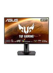 Asus TUF Gaming 27 Inch LED G-SYNC 240HZ 1ms Gaming Monitor, VG279QM, Black