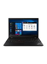 "Lenovo ThinkPad P15s Gen1 Laptop, 15.6"" Display, Intel Core i7 10th Gen 1.10GHz, 512GB SSD, 16GB RAM, 2GB NVIDIA Quadro P520 Graphic Card, EN KB with Touch Bar, Windows 10 Pro, Black"