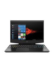 "HP Omen 15 Gaming Laptop, 15.6"" FHD Display, Intel Core i7-9750H 9th Gen 2.3GHz, 1TB SATA, 8GB RAM, NVIDIA GTX 1650 4GB Graphics, English Keyboard, Win 10, 5TN14AV, Black"