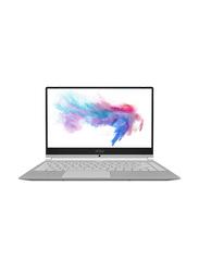 """MSI Modern 14 A10RAS Laptop, 14"""" FHD Display, Intel Core i7-10510U 10th Gen 1.6GHz, 512GB SSD, 16GB RAM, NVIDIA MX330 2GB GDDR5 Graphics, EN KB, Win 10, 9S7-14B352-864, Grey"""
