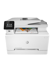 HP Color LaserJet Pro MFP M283fdw 7KW75A Wireless All-in-One Printer, White