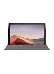 Microsoft Surface Pro 7, 12.3 inch PixelSense Touchscreen Display, Intel Quad Core i5-1035G4 10th Gen, 128GB SSD, 8GB RAM, Intel Iris Plus Graphics, Win 10, PVQ-00006, Platinum
