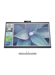 HP 27 Inch E27D G4 QHD LED Docking Monitor, 6PA56AS#ABV, Silver/Black