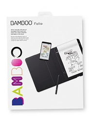 Wacom CDS-610G Bamboo Folio Tablet, Grey, Small