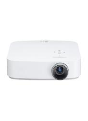LG PH550 HD DLP 3D CineBeam Portable Projector, 550 Lumens, Wireless Screen Share/Bluetooth, White
