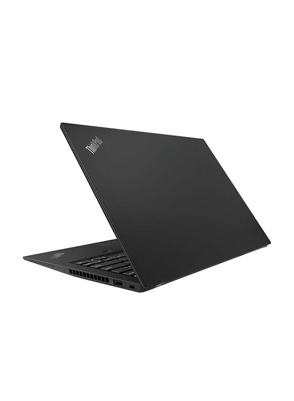 Lenovo ThinkPad T490s, 14 inch FHD IPS Touch Display, Intel Core i7 8th Gen 1.6GHz, 256GB SSD, 8GB RAM, Integrated Intel UHD 620 Graphics Card, AR KB, Business, Win 10 Pro 64, 20NX000JAD, Black
