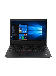 "Lenovo ThinkPad E14 Notebook Laptop, 14"" FHD Display, Intel Core i7-10510U 10th gen 1.8GHz, 1TB HDD, 8GB RAM, AMD Radeon RX640 2GB Graphics, EN KB, DOS, 20RA000KUE, Black"