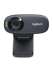 Logitech C310 HD Webcam, Black