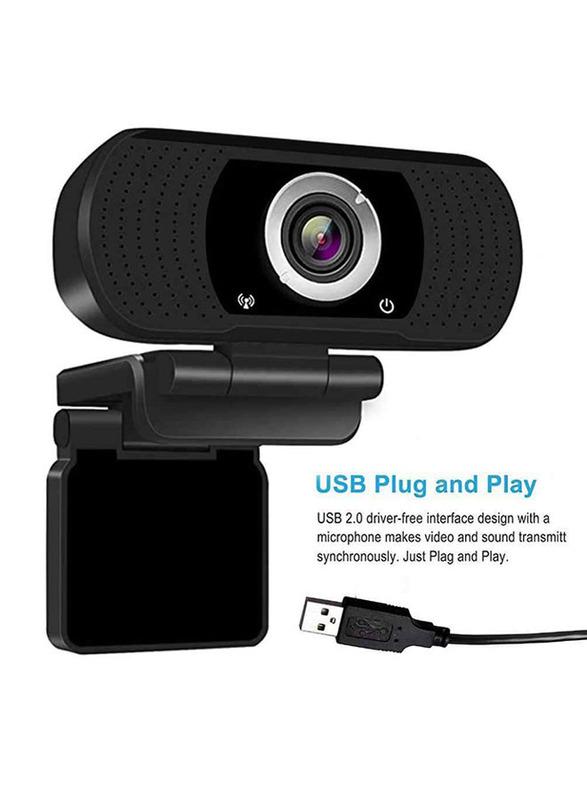 Tesca TC301 Full HD Webcam, Black